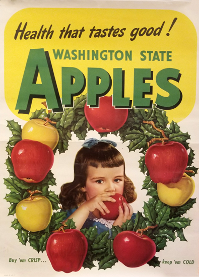 Washington State Apples (Girl)