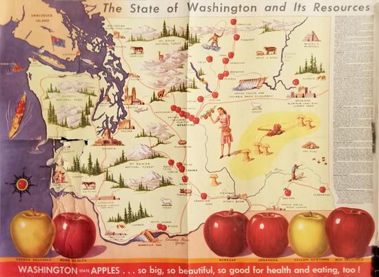 Washington Apple Map
