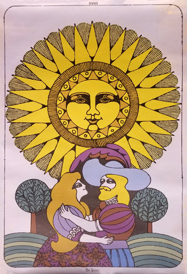 Tarot Poster Le Soleil (The Sun)