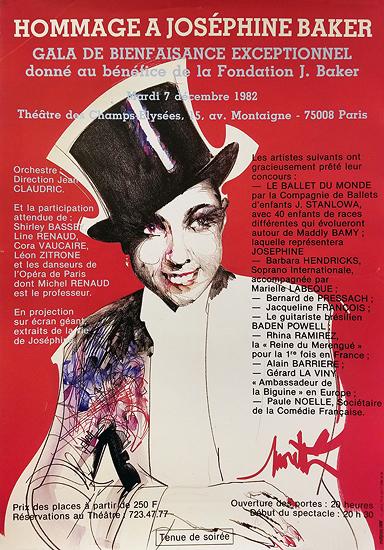 Hommage a Josephine Baker 1982