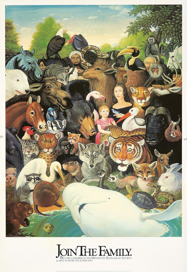 Join the Family Minnesota Zoological Society Poster