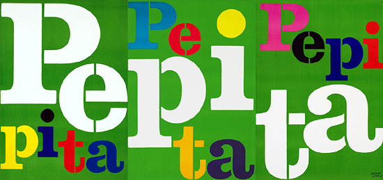 Pepita (3 Sheet Panel Tryptic)