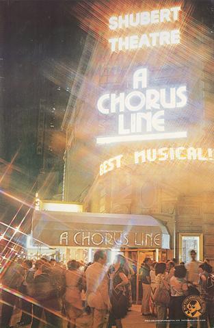 A Chorus Line Shubert Theatre