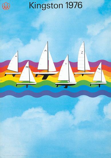 Kingston 1976 Montreal Olympics (Sailboats)