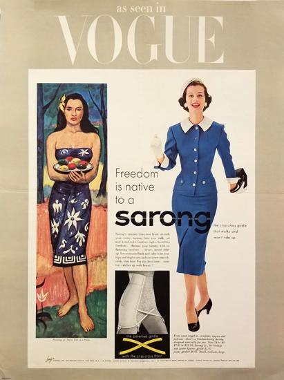 Vogue - Sarong Girdle