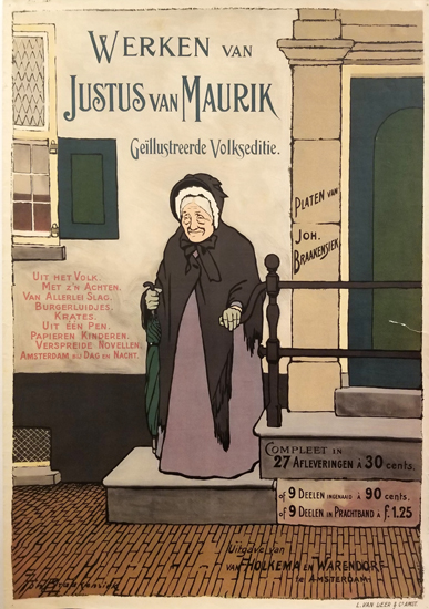 Werken van Justus van Maurik