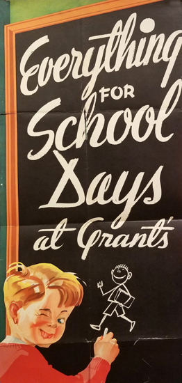 Everything for School Days at Grant's
