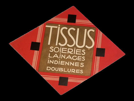 Diamond Cut-out - Tissus