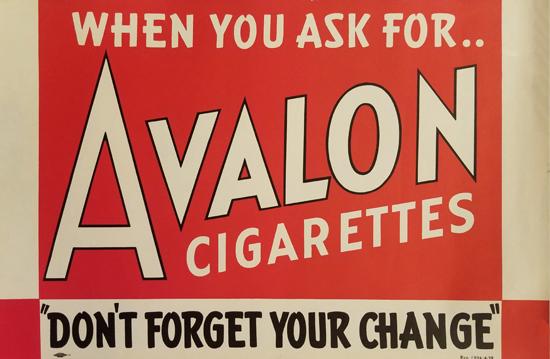 Avalon Cigarettes- Red & White