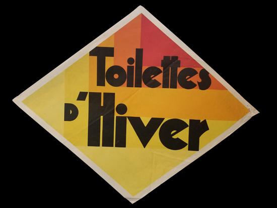 Diamond Cut-out- Toilettes D'Hiver (Large)