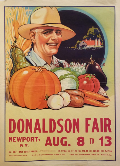 Donaldson Fair - Farmer, Fruits, and Vegetables