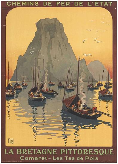 La Bretagne Pittoresque (Fishing Boats)