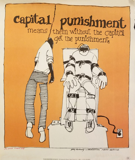 Peg Avery- Capital Punishment- means them without the capital get the punishment