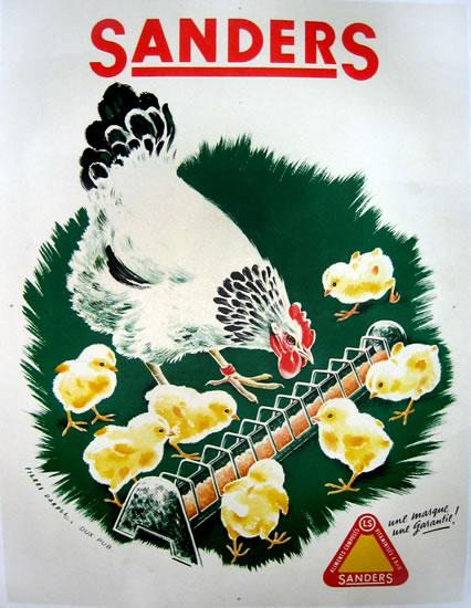 Sanders Chickens