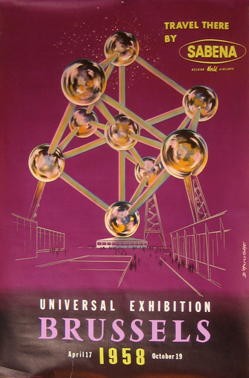 Sabena Universal Exhibition Brussels