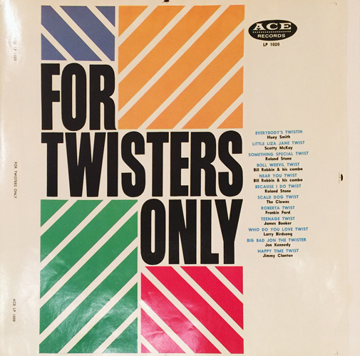 For Twisters Only (LP dust jacket)