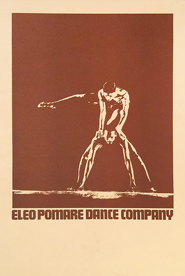 Eleo Pomare Dance Company (Stock Poster)
