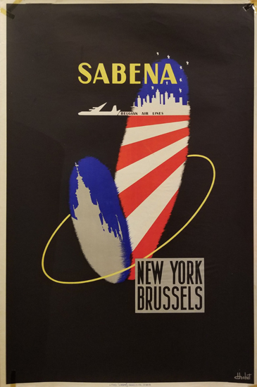 Sabena New York Brussels