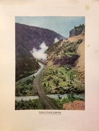 Rio grande Railroad - Eagle River Canyon