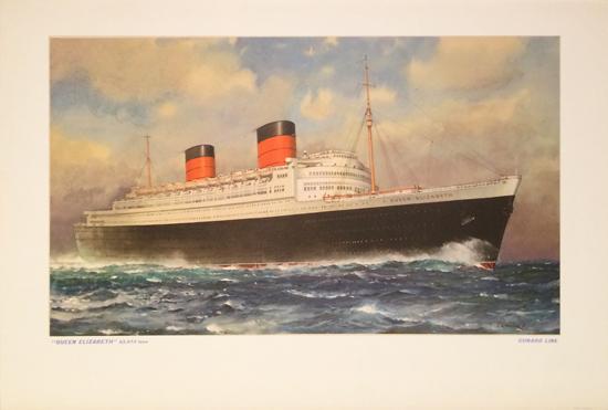 Cunard - Queen Mary