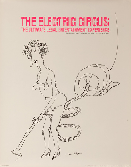The Electric Circus- The Ultimate Legal Entertainment Experience (Vaccum)