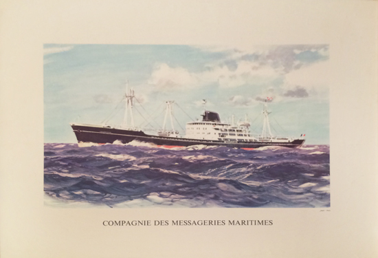 Compagnie Des Messageries Maritimes
