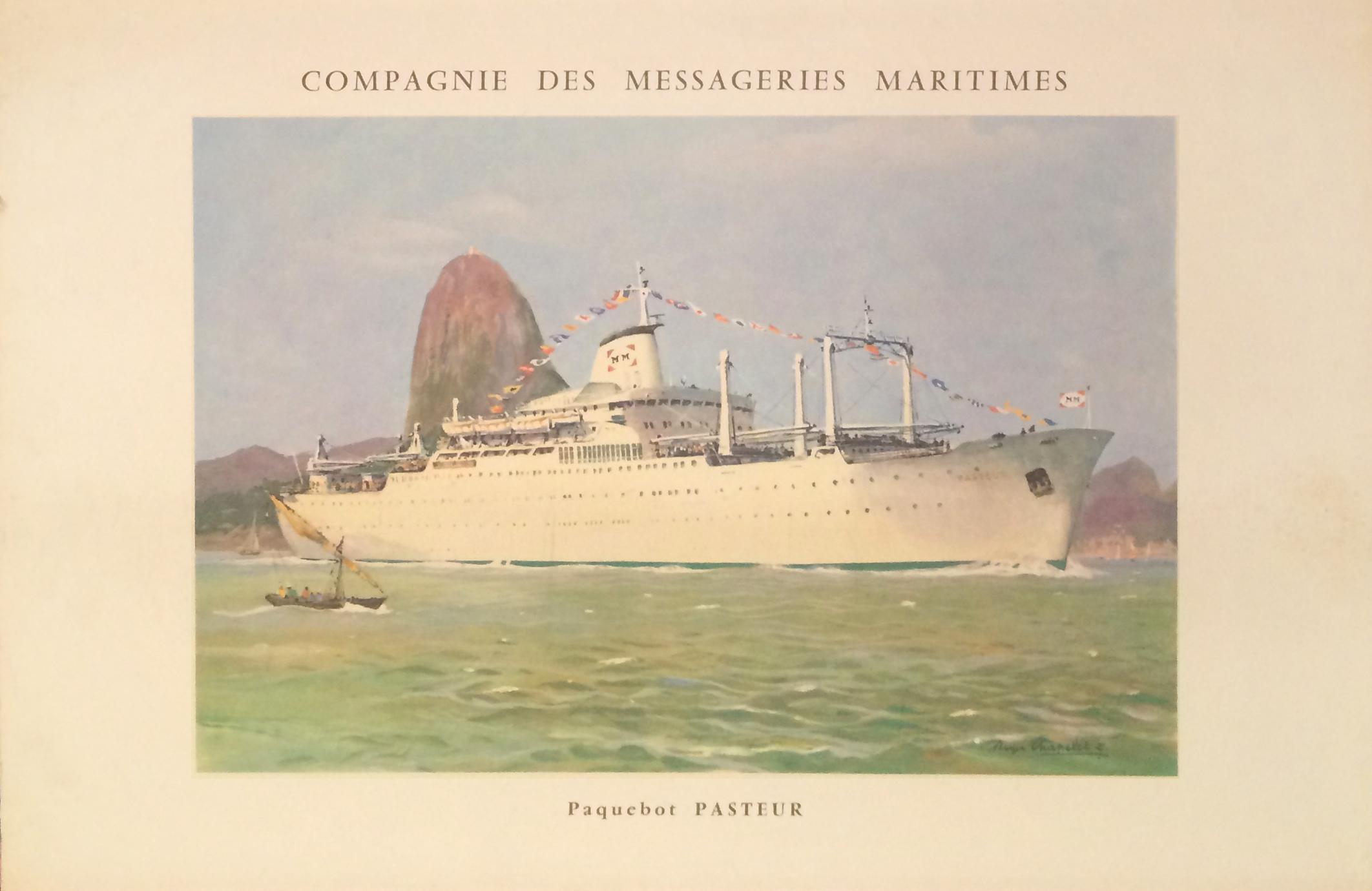 Compagnie Messageries Maritimes - Pasteur