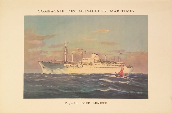 Compagnie Messageries Maritimes - Lumiere