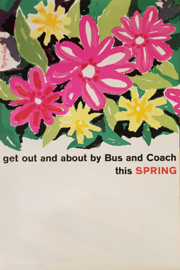 Get out and about by bus and coach this spring
