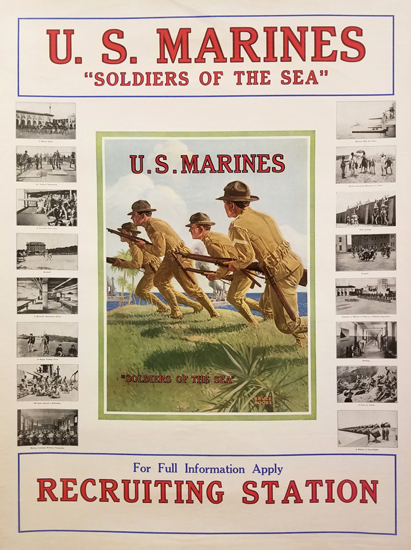 U.S. Marines Recruiting Station
