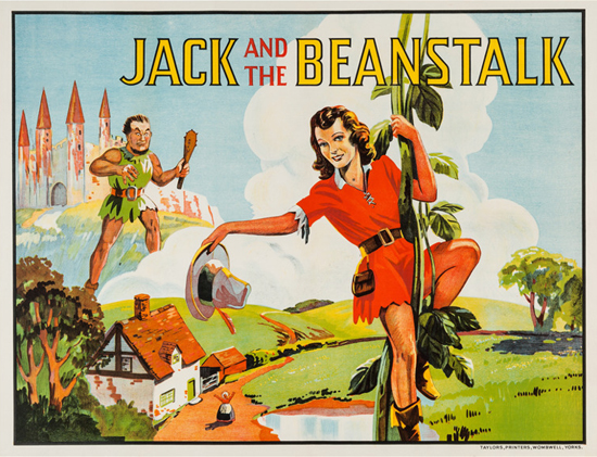 British Pantomime, Jack and the Beanstalk