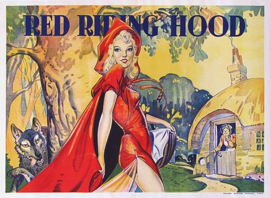 British Pantomime, Red Riding Hood