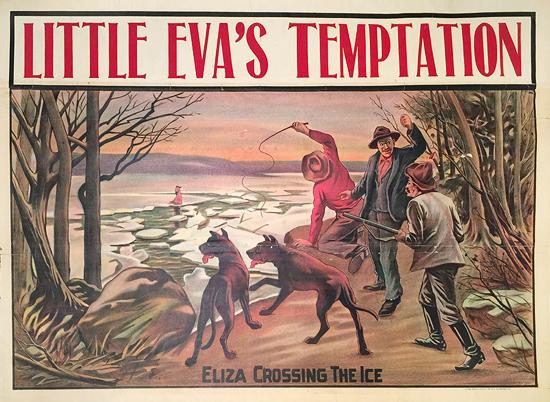 Little Eva's Temptation Eliza Crossing the Ice