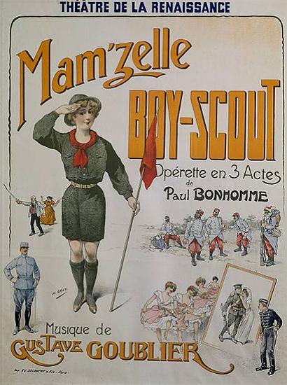 Mam'zelle Boy Scout Operette en 3 Actes