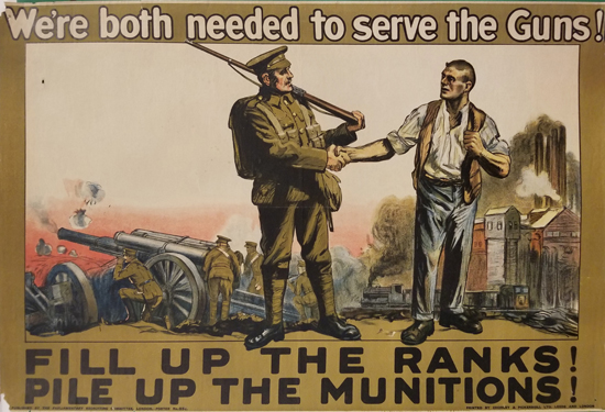 Fill up the Ranks! Pile up the Munitions!