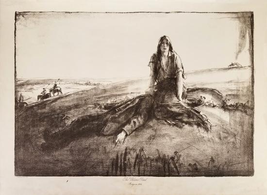 World War 1- Spencer Pryse print
