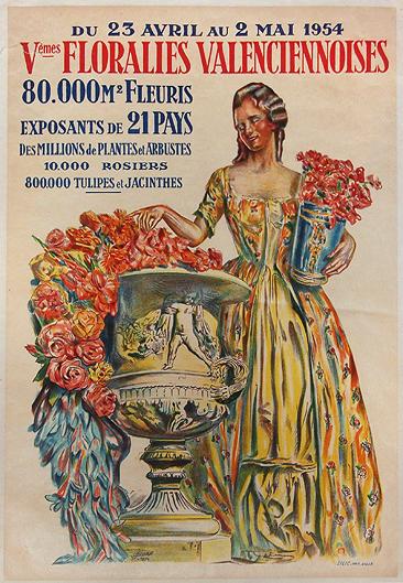 Floralies Valenciennoises 1954 (Valenciennes)