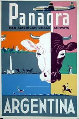 Pan Am - Panagra - Argentina