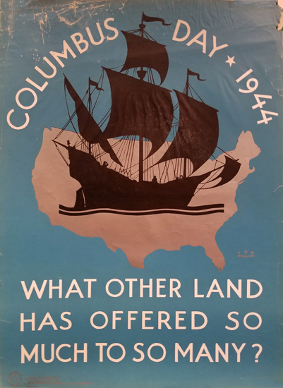 Columbus Day 1944 (Think American)