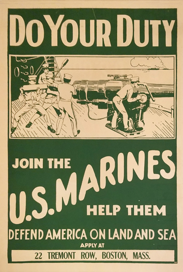 Do Your Duty Join the U.S. Marines