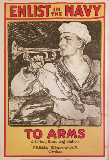 Enlist in the Navy To Arms