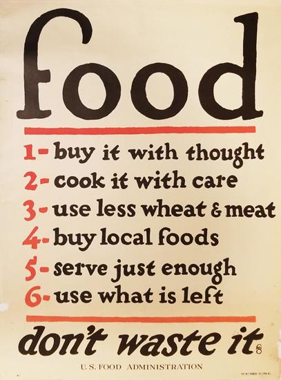 Food- Don't Waste It