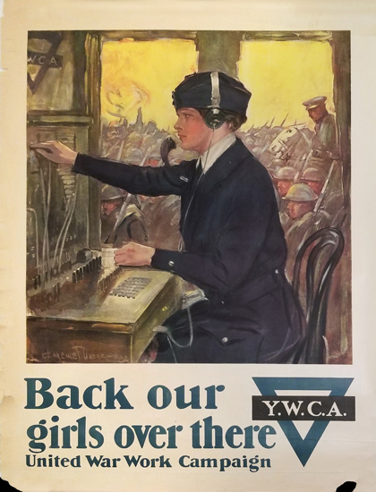 YWCA - Back Our Girls Over There