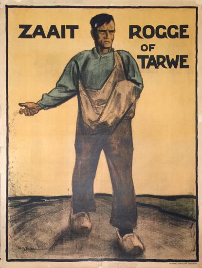 Zaait Rogge of Tarwe