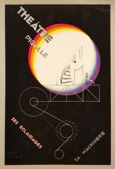 Theatre Pigalle - Ses Eclairages Sa Machinerie