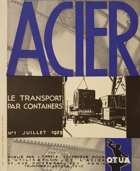 Acier - Le Transport Par Containers