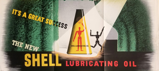 Shell Lubricating Oil