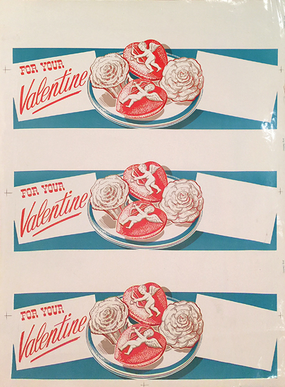 American Die Cut- For Your Valentine
