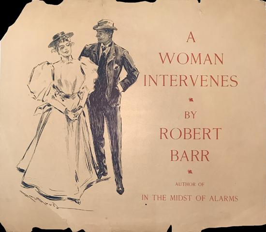 A Woman Intervenes by Robert Barr