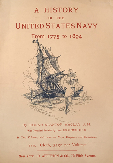 A History of the United States Navy by Edgar Stanton Maclay